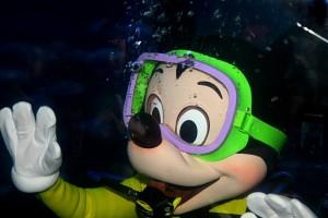 Mickey mergulhador! Fofo demais!!