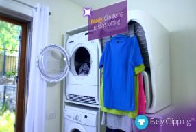 Máquina que lava, seca, passa e dobra!!