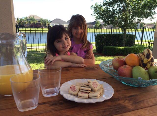 filhos família blog receita