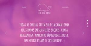 baleia rosa