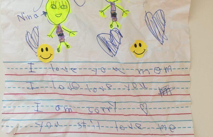 Carta de filha pra mãe