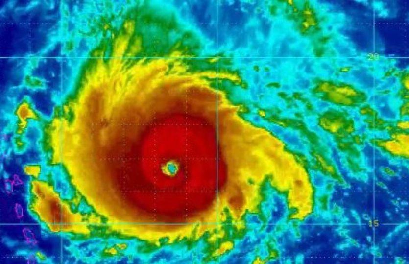 Furacão Irma está perto