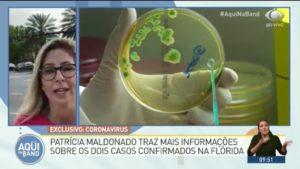 Coronavírus chega a Flórida